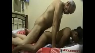 Old man fucking with young girl in hindi 3pgking video