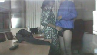 Hidden sex indian office spy cam with college teen
