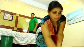 Indian servant maid fucking with her boss